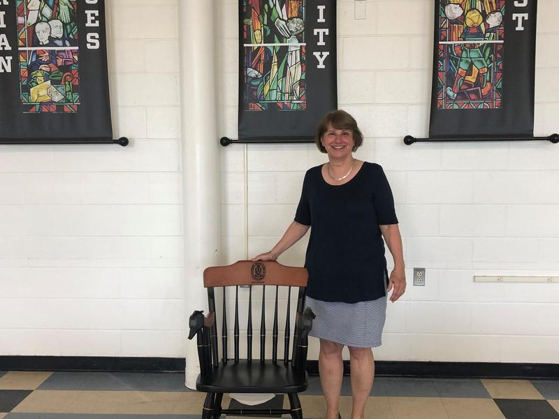 Mrs. Joan Tomasiello retiring from Xavier after 2020-21 school year.
