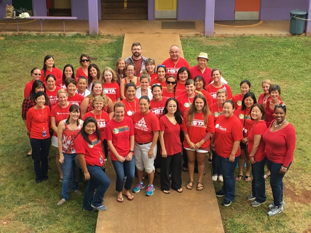 Teacher Red Day