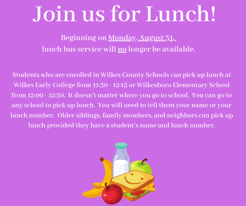 Join us for Lunch Thumbnail Image