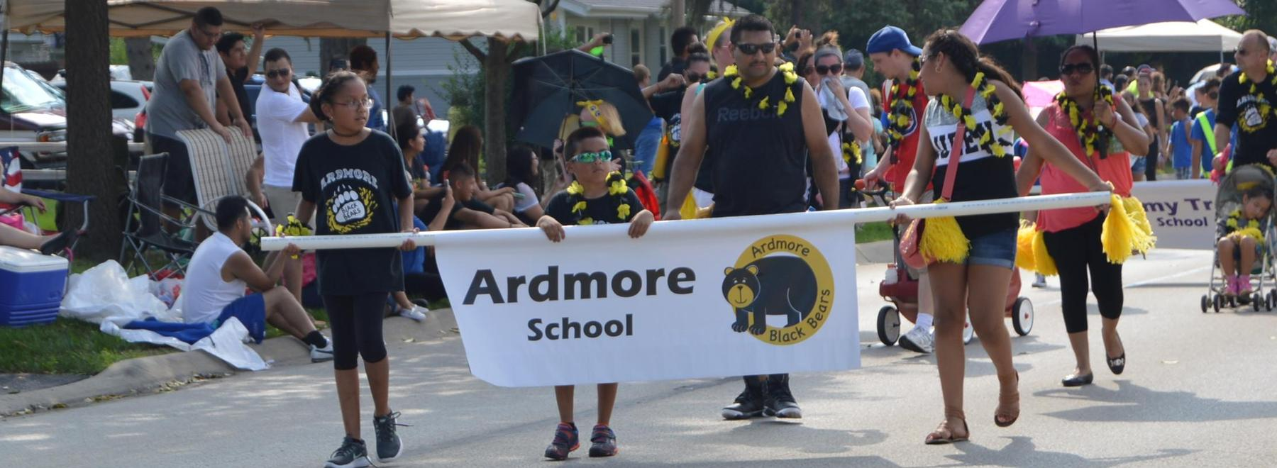 Ardmore in parade