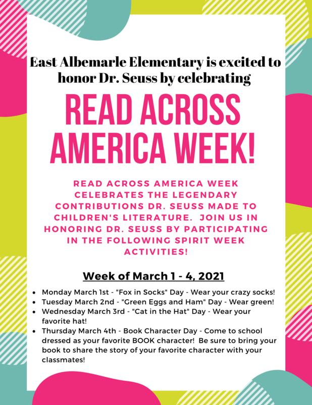 Read Across America Week Featured Photo