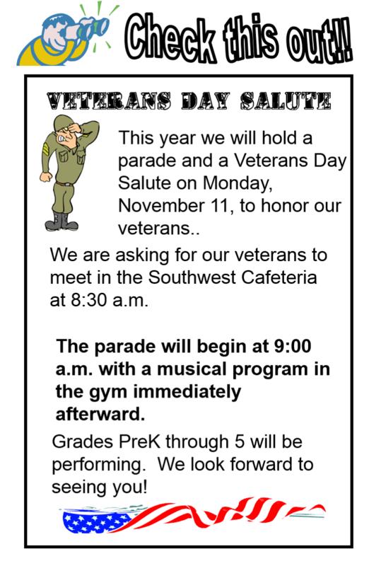 Veterans Day Salute on November 11 Thumbnail Image