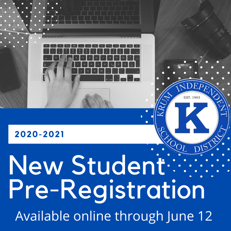 New Student Pre-Registration Available Now! Featured Photo