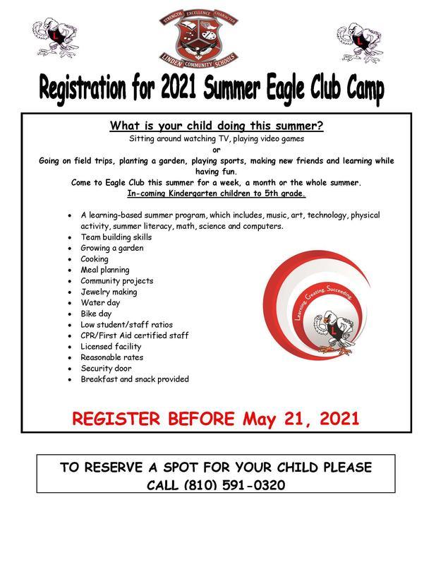 Summer Eagle Club Thumbnail Image