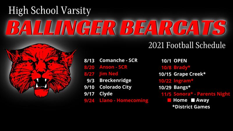 Ballinger Bearcats Football