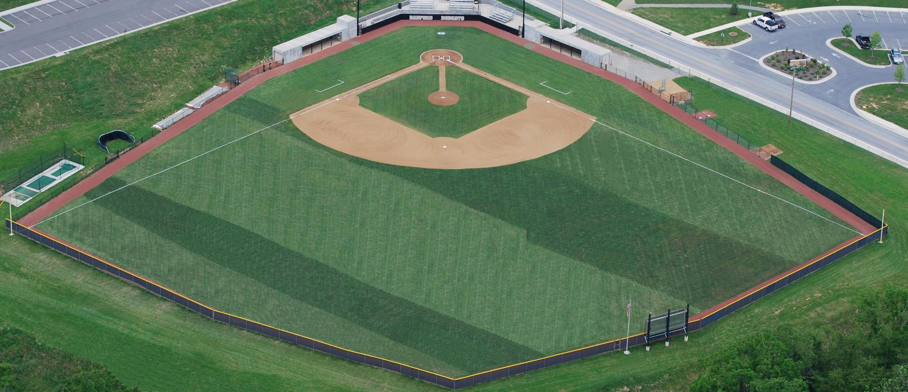 Baseball field, picture by Mark Armentrout