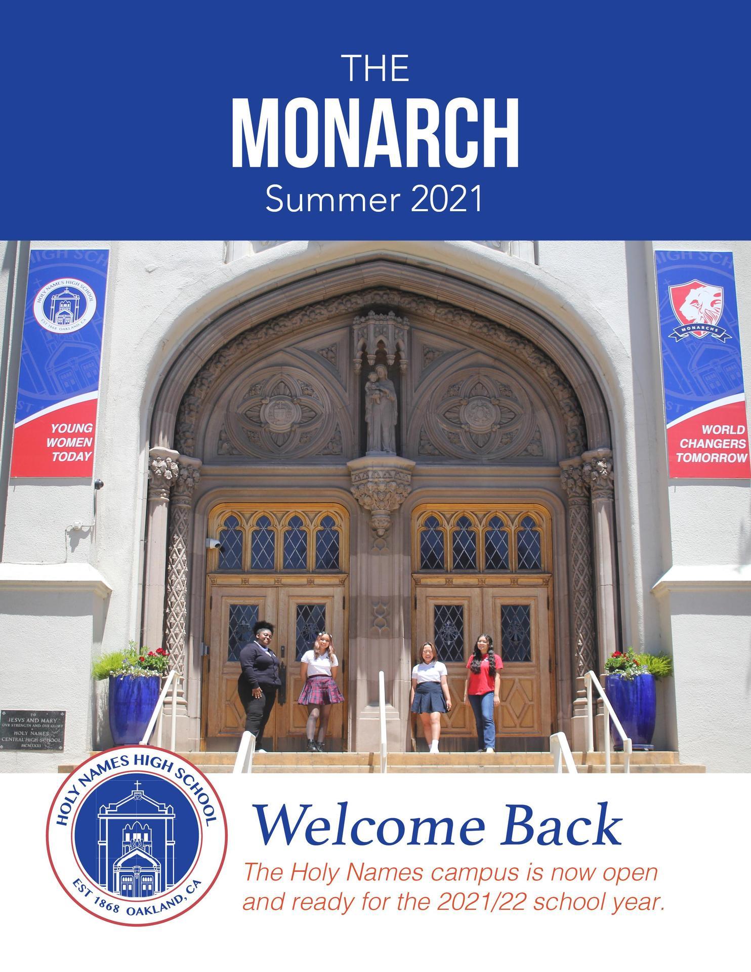 Holy Names High School Monarch Magazine