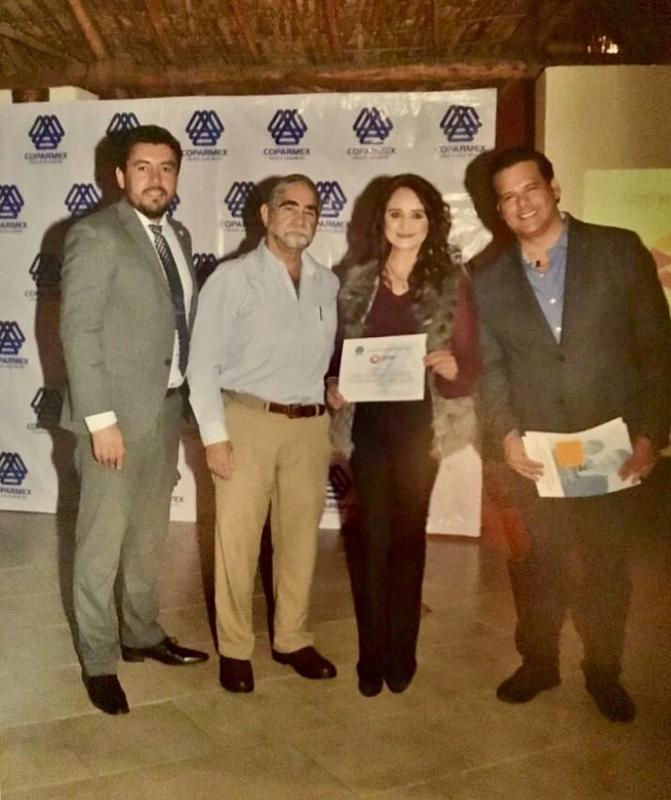 COPARMEX otorga premio a Grupo CEDVA Featured Photo