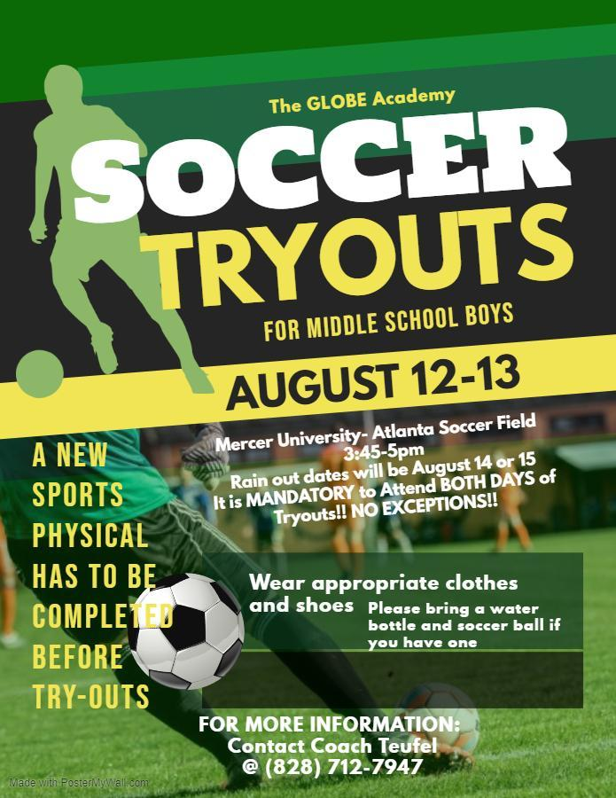 Soccor Tryouts