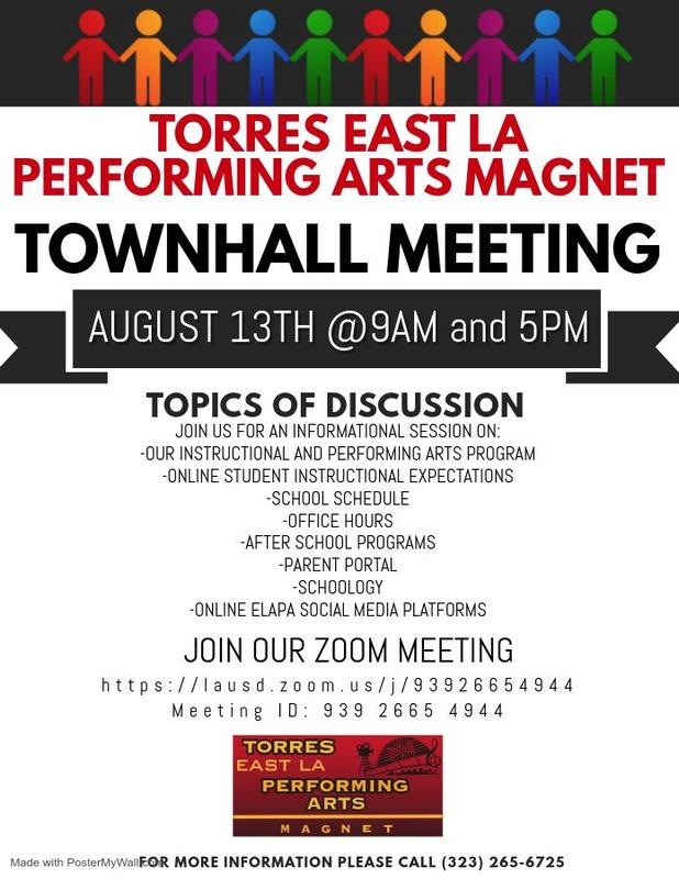 Torres ELAPA Townhall Meeting Featured Photo