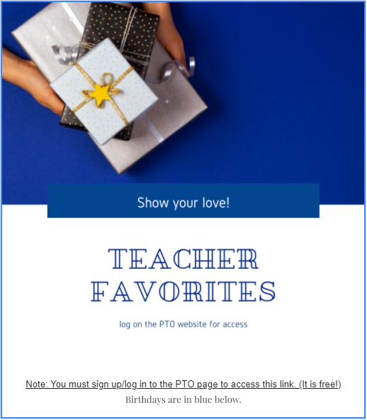 teacher faves