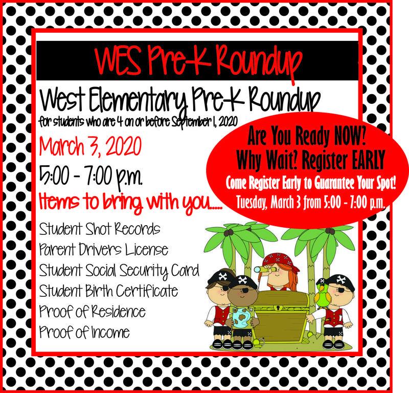 Pre K Round Up!! Featured Photo