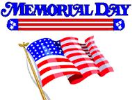 Memorial Day-NO SCHOOL Thumbnail Image