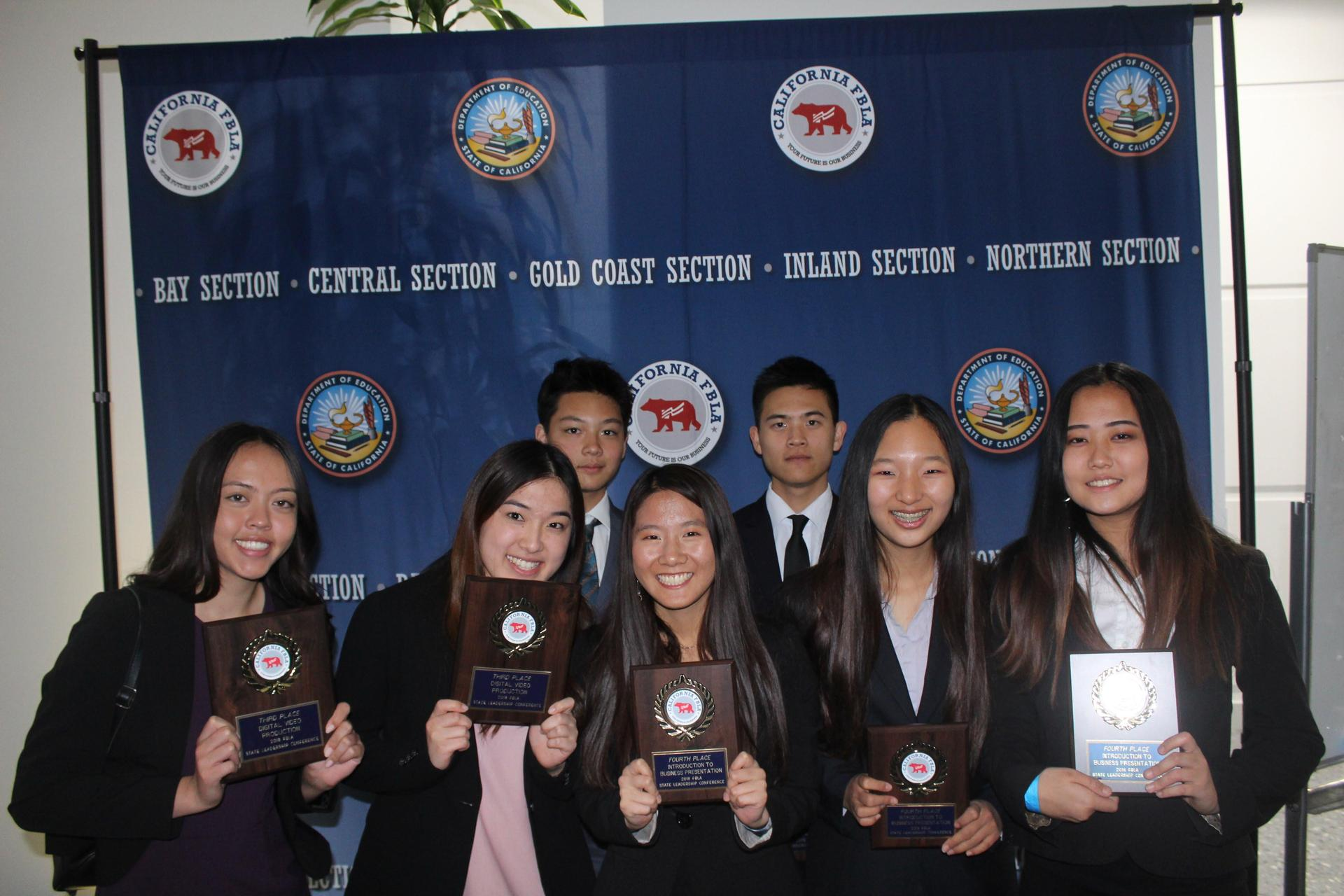FBLA State Winners!