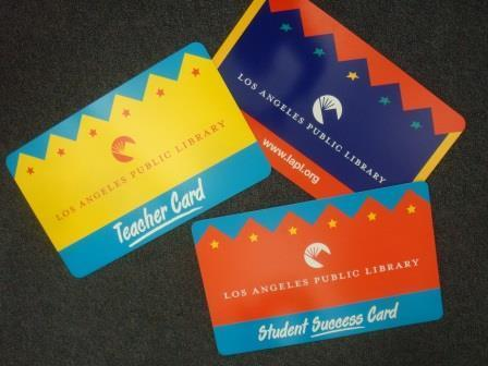 Do you have your  LAPL Student Success Card?