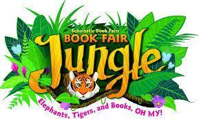 Jungle Scholastic Book Fair Logo