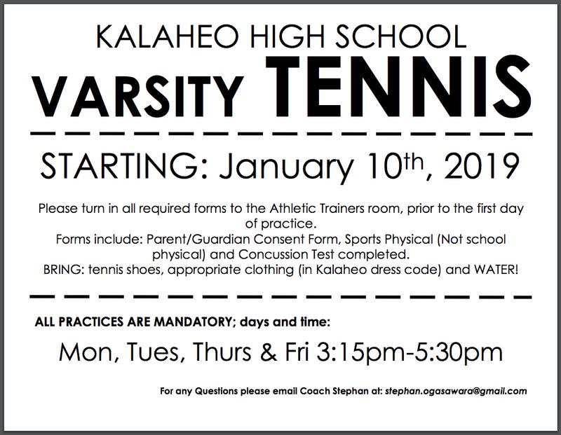 Varsity Tennis Featured Photo
