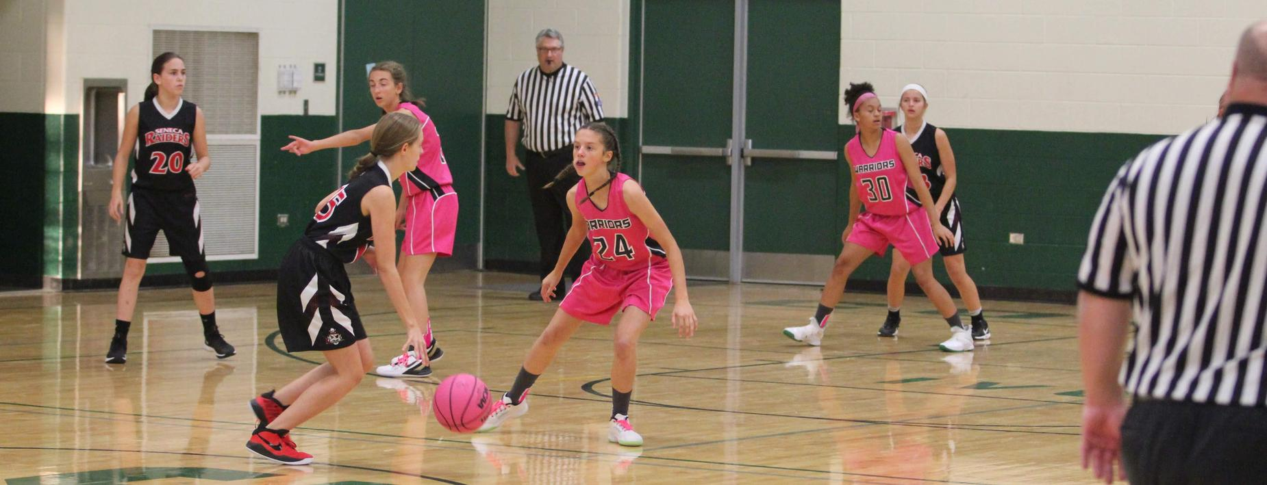 Girls Basketball CCMS