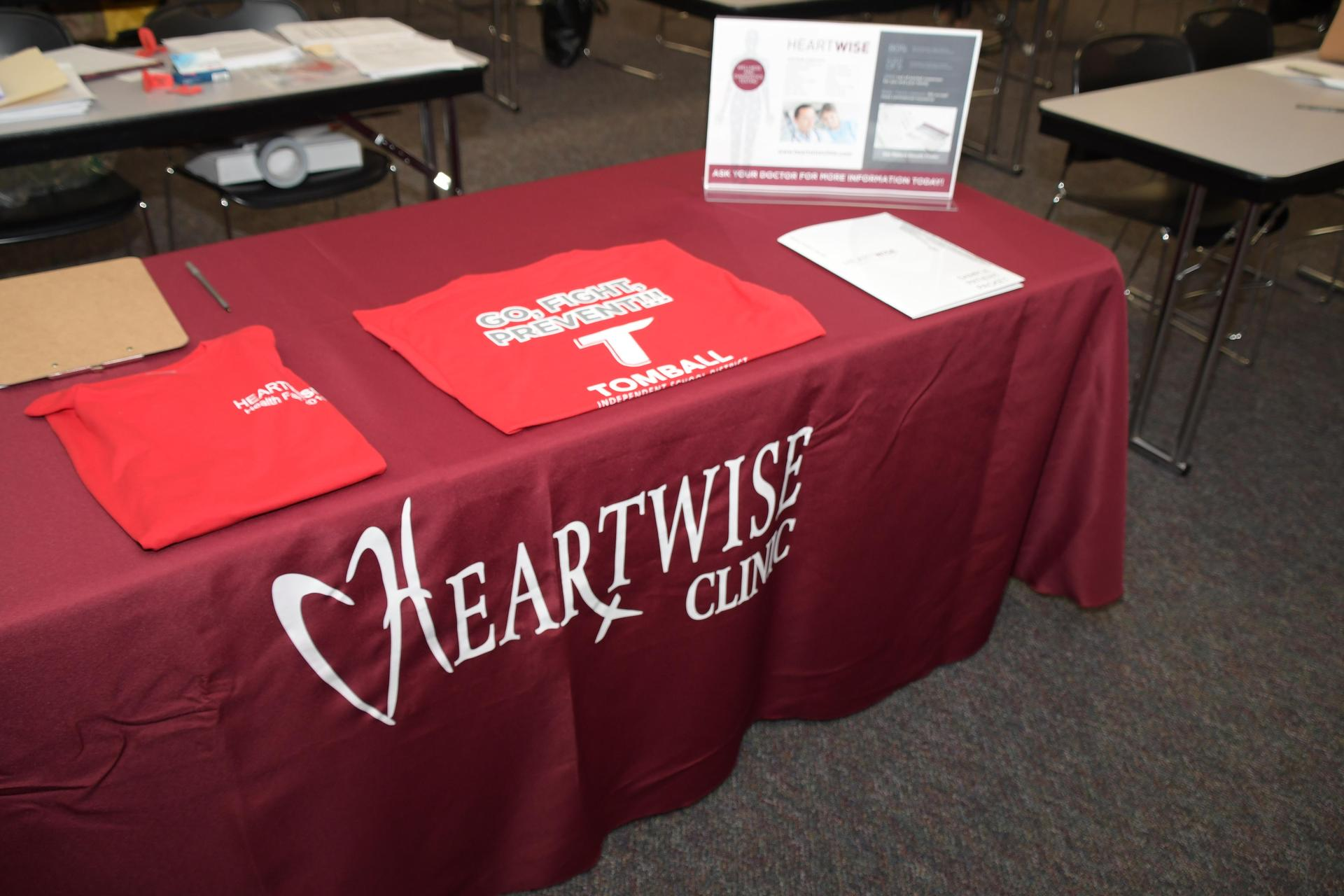 HeartWise t-shirt give-away