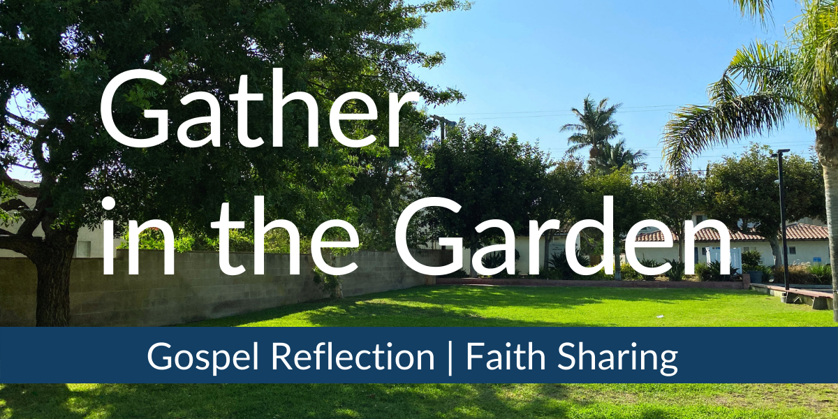 Gather in the Garden graphic