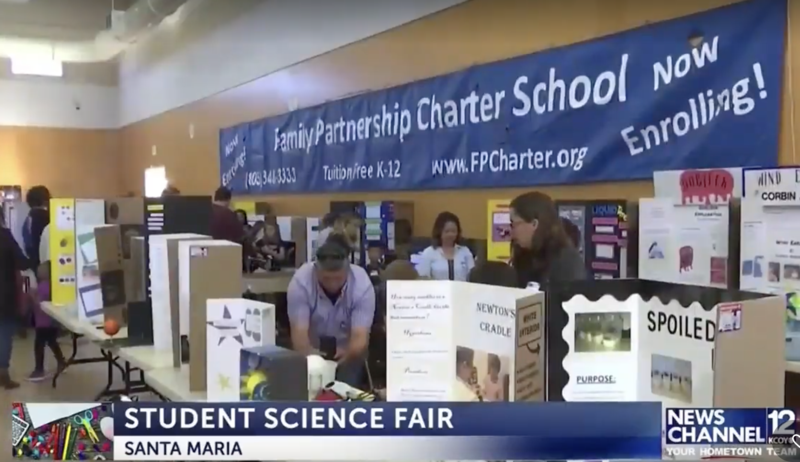 4th Annual FP Science Fair KYET/KCOY News Footage Featured Photo