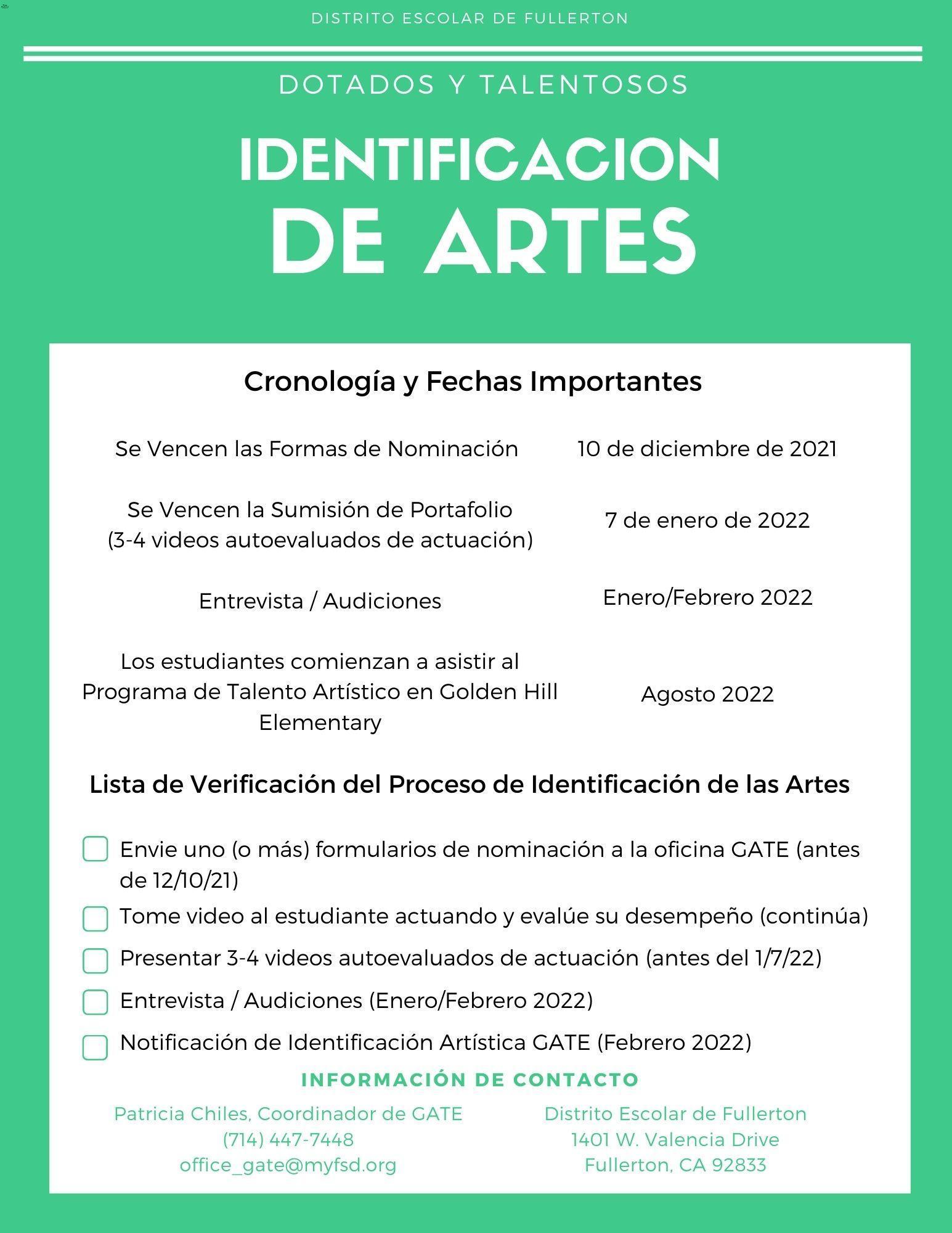 Arts ID Spanish p2