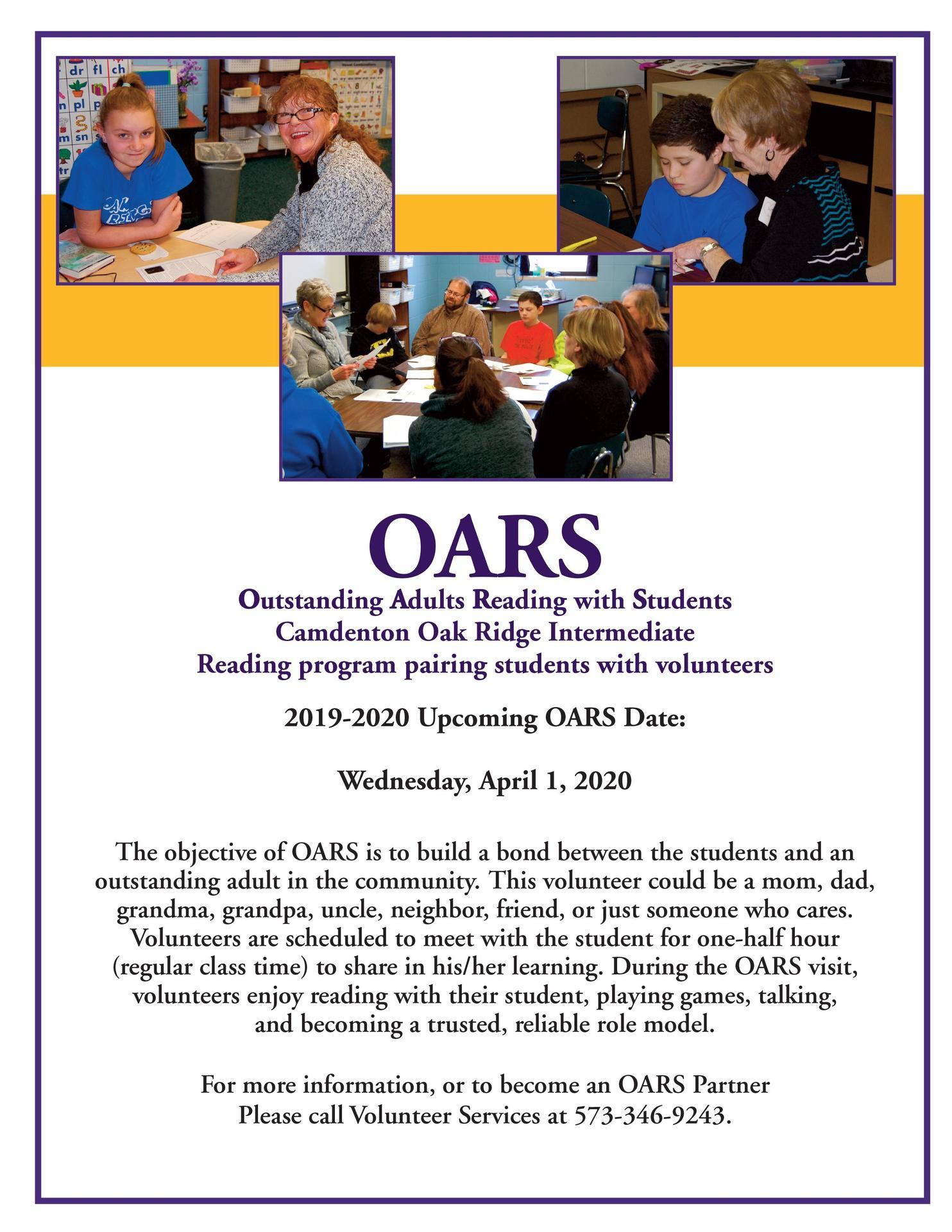 OARS last date