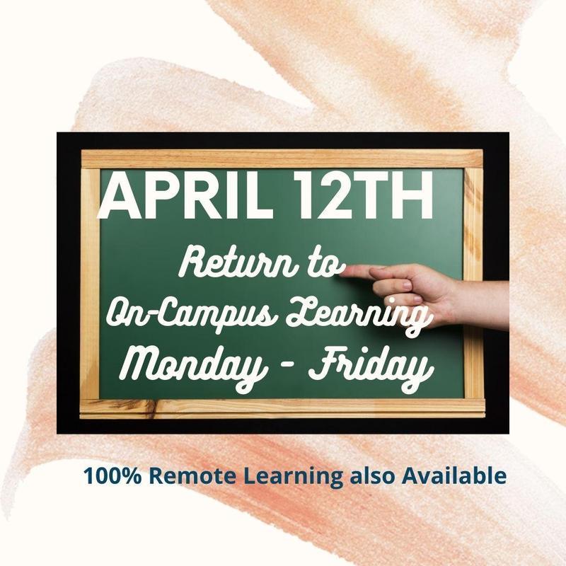 Class Schedule Change 4/12