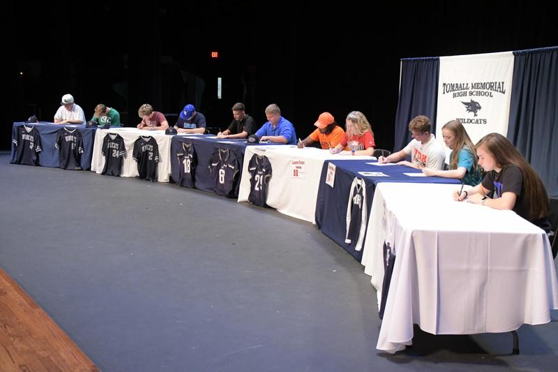 TMHS Signing Day