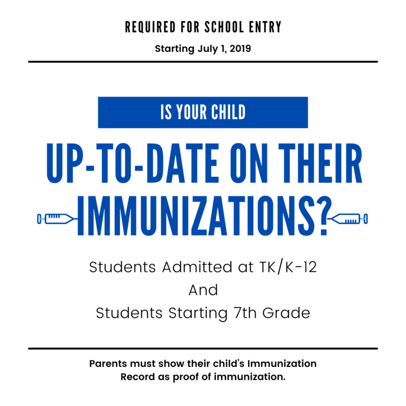 Immunizations Required for School Entry Featured Photo