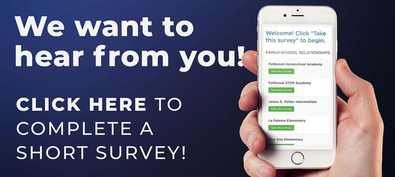 Help our school by completing a short survey! Featured Photo