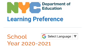 NYC Department of Education Learning Preference Survey