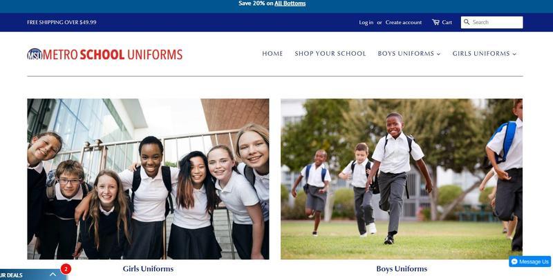 Metro School Uniform