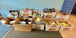 pic of donation items