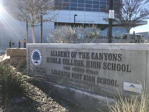 Academy of the Canyons exterior