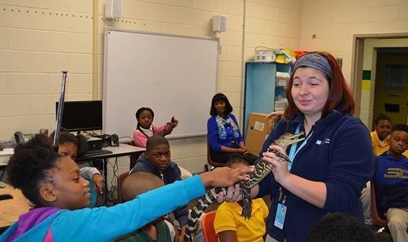 South Carolina Aquarium visits