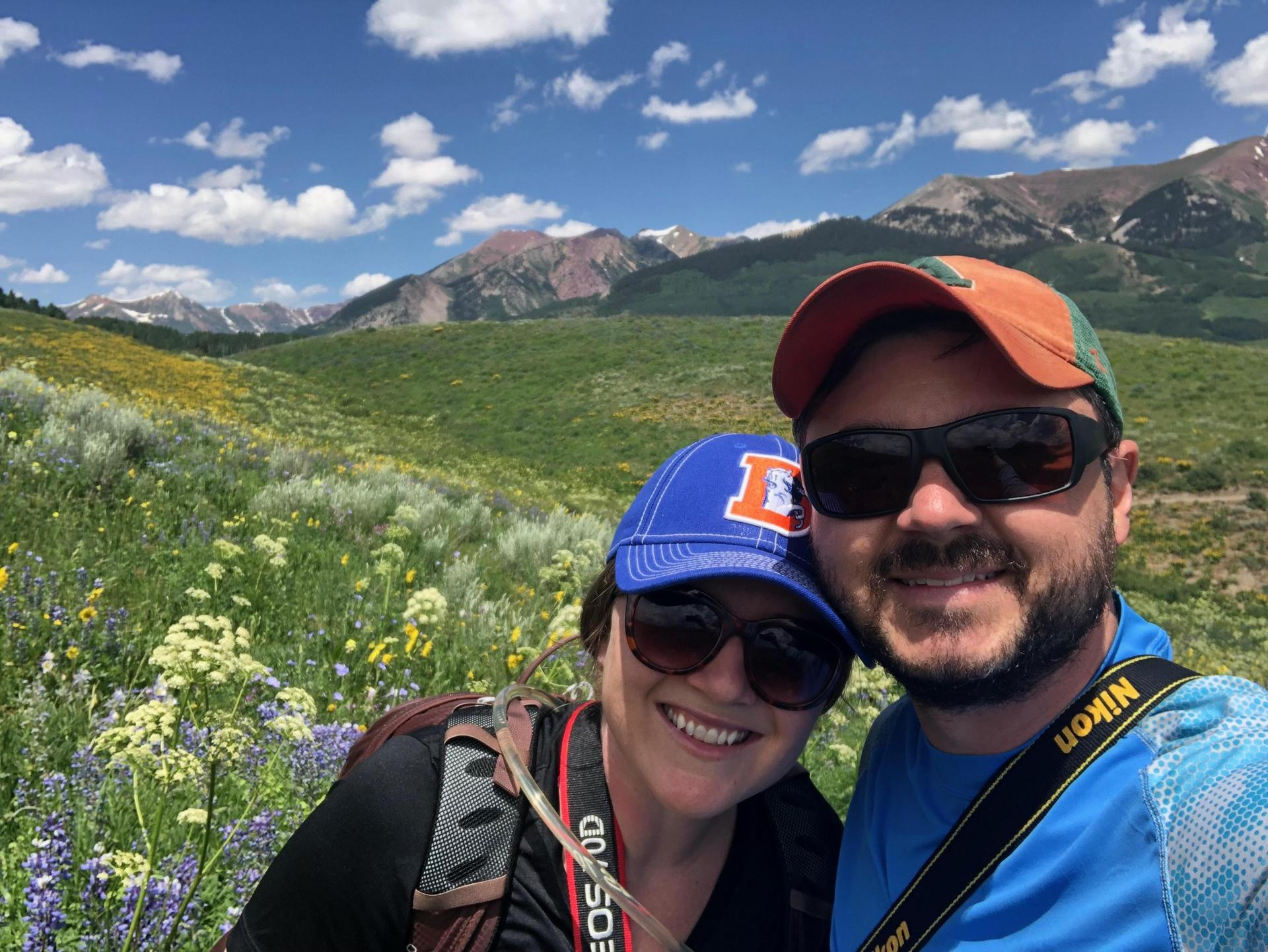 Hiking with my fiance