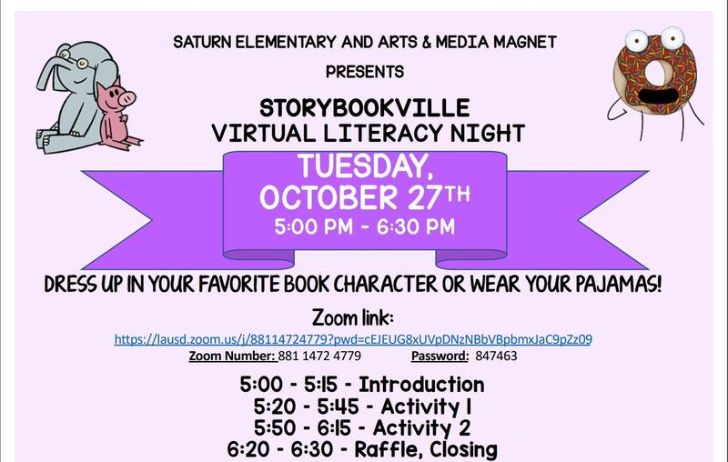 Join us for Family Literacy Night on October 27th! Featured Photo