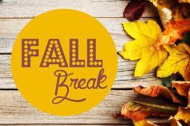 Fall break is coming up! Featured Photo