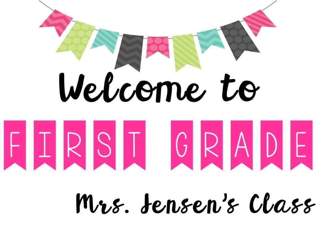 Mrs. Jensens' Class