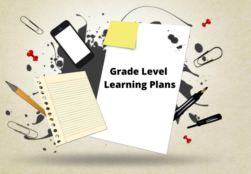 Grade Level learning plans