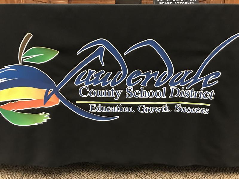LCSD Table Cloth Emblem