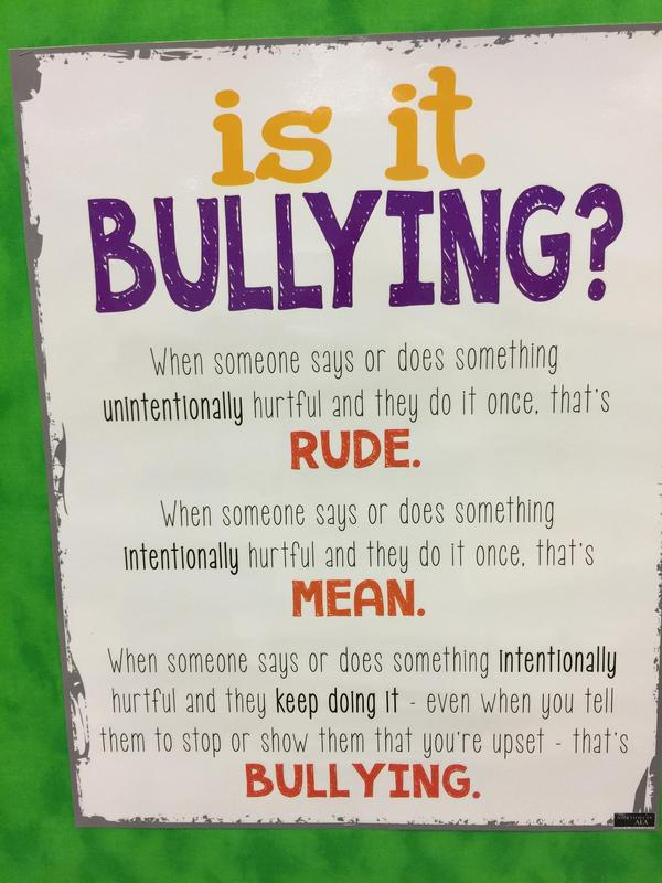 Bully Prevention Month at the Elementary Featured Photo