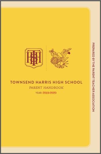 2019-20 Parent Handbook cover image
