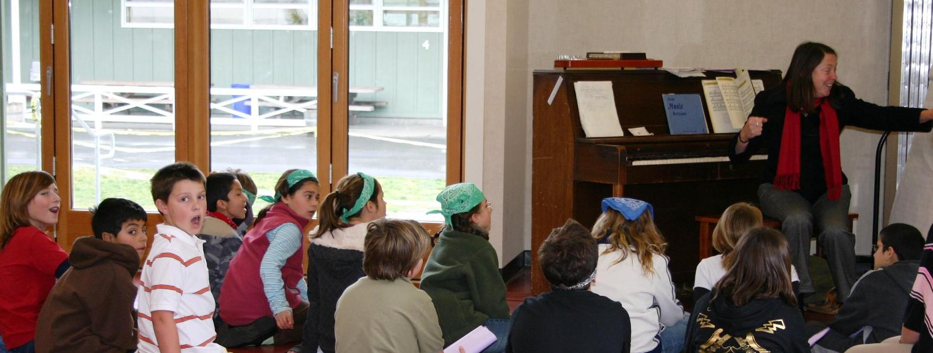 Music enrichment - West Side School