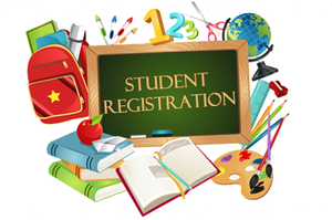 student registration photo