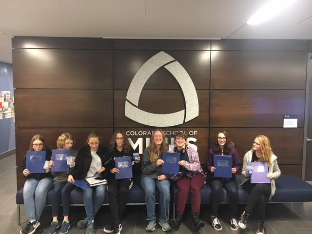 Girls in STEM visits Colorado School of Mines.