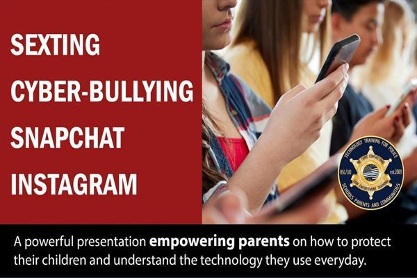 Register For D124's Cyber-Bullying Webinar Thumbnail Image