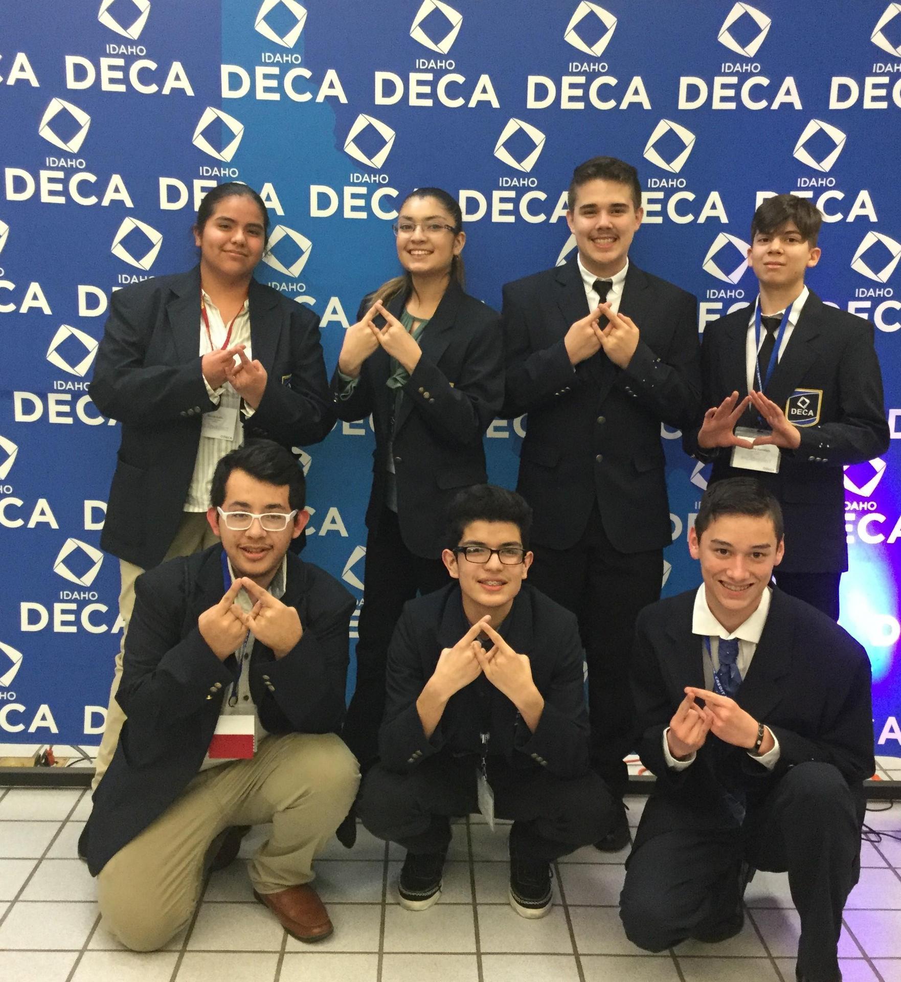 DECA Members