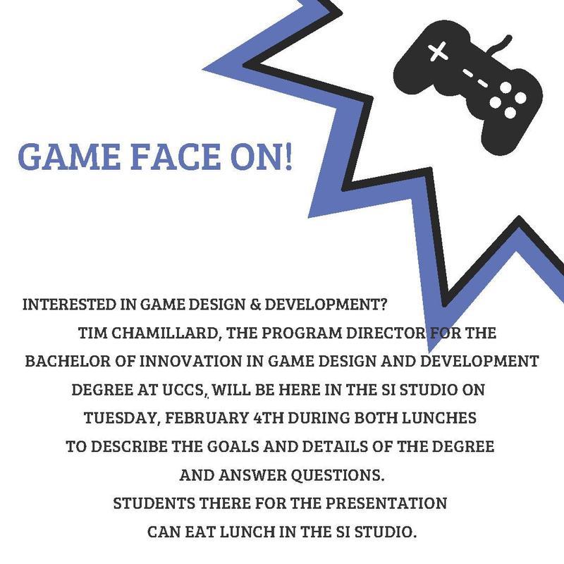 UCCS BI Presentation Flyer